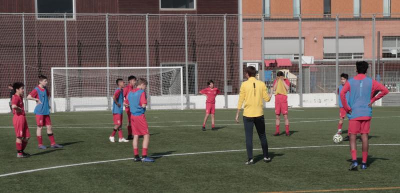 football goalie development