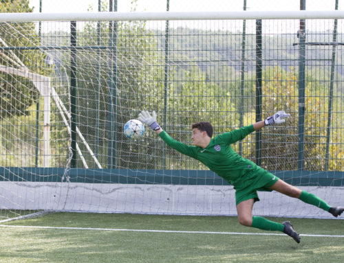 How to develop a great football goalie