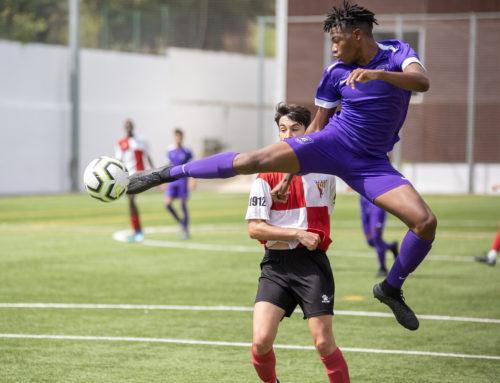 Programa de fútbol juvenil en Barcelona